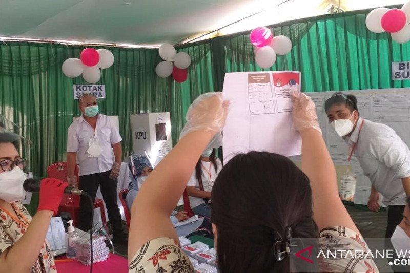Calon Gubernur Sulut petahana menang di TPS tempat nyoblos