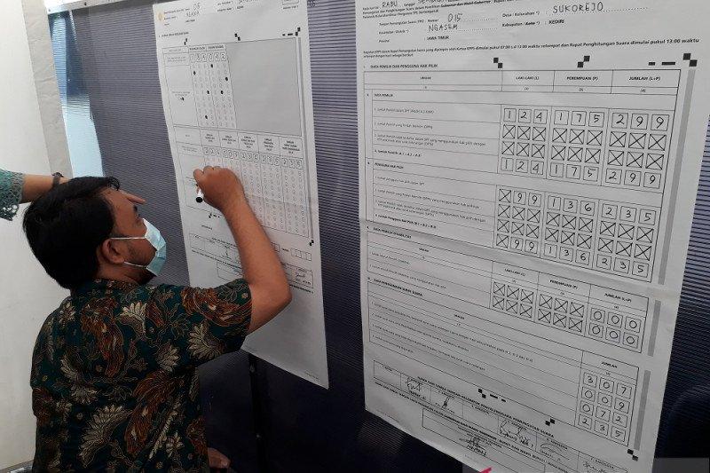 KPU Kediri: Partisipasi masyarakat di pilkada meningkat lima persen