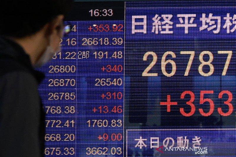 Saham Tokyo dibuka menguat, terkerek Wall Street capai rekor tertinggi