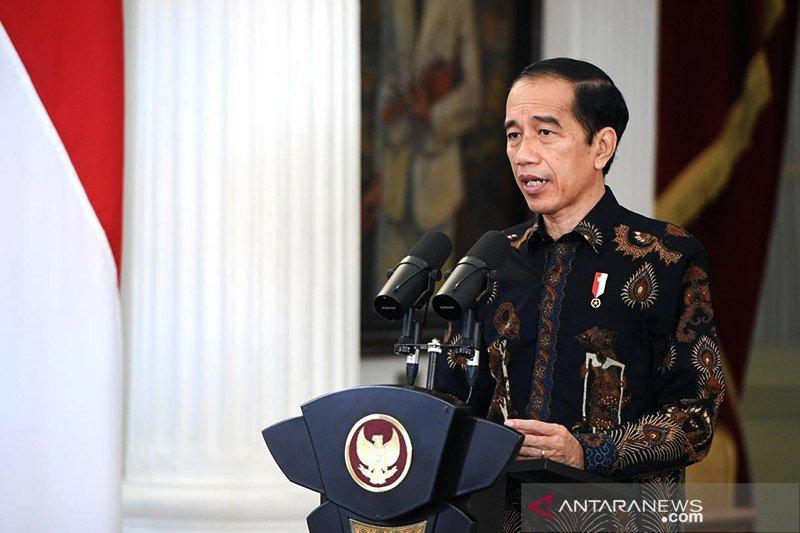 Presiden minta penyelesaian masalah HAM masa lalu terus dilanjutkan