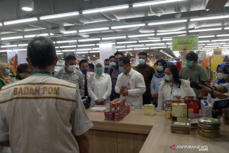 Wawako Palembang dan BBPOM temukan makanan berformalin di supermarket