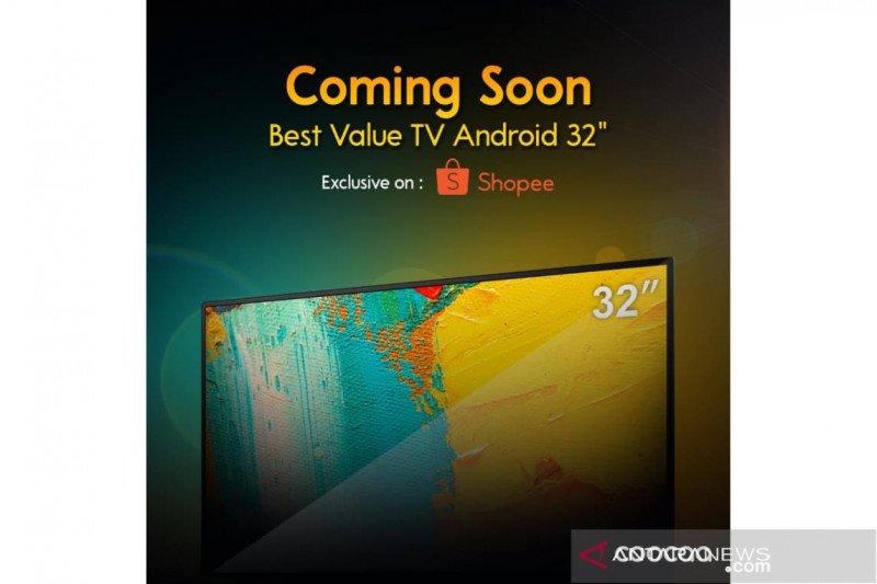 COOCAA hadirkan Smart TV 32S3G, harga di bawah Rp2 juta
