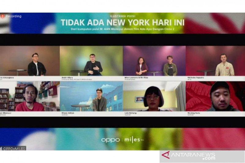 """Tidak Ada New York Hari Ini"", animasi kumpulan puisi ""AADC 2"""
