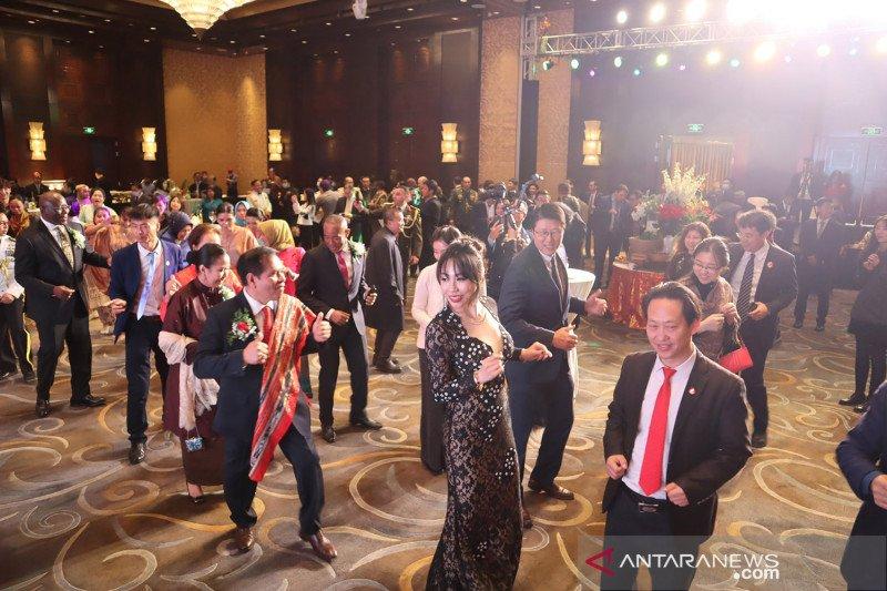 Resepsi diplomatik HUT RI di Beijing