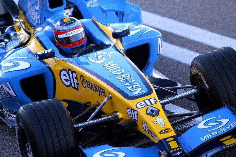 Alonso bakal bernostalgia dengan mobil juara Renault R25 di Abu Dhabi