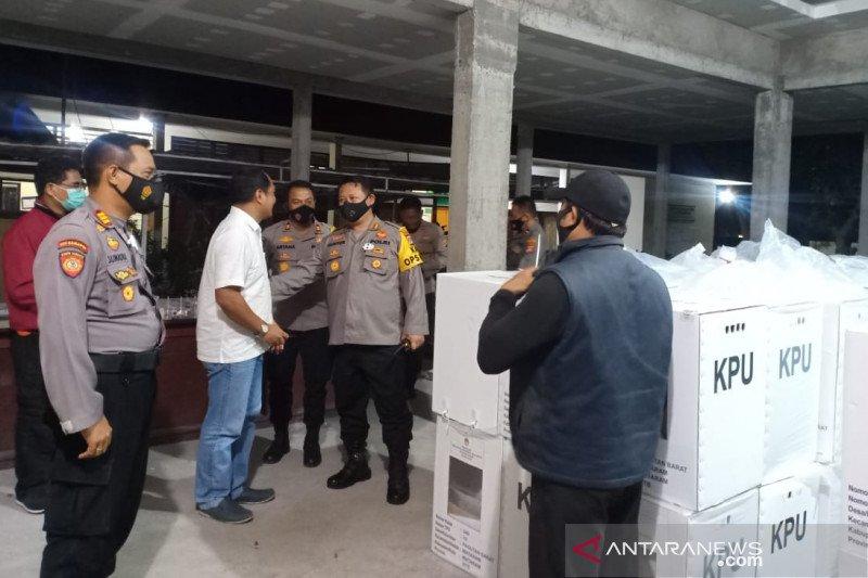 Kapolresta Mataram perintahkan personel jaga ketat surat suara
