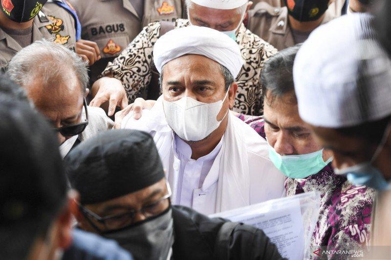 Polisi fasilitasi kebutuhan Rizieq selama pemeriksaan berlangsung