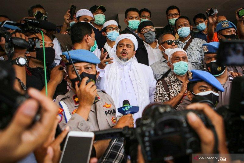 Kriminal sepekan, didominasi pemberitaan FPI dan Rizieq Shihab