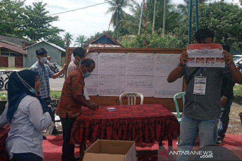 Partisipasi PSU di TPS 57 Lubukbasung Agam berkurang