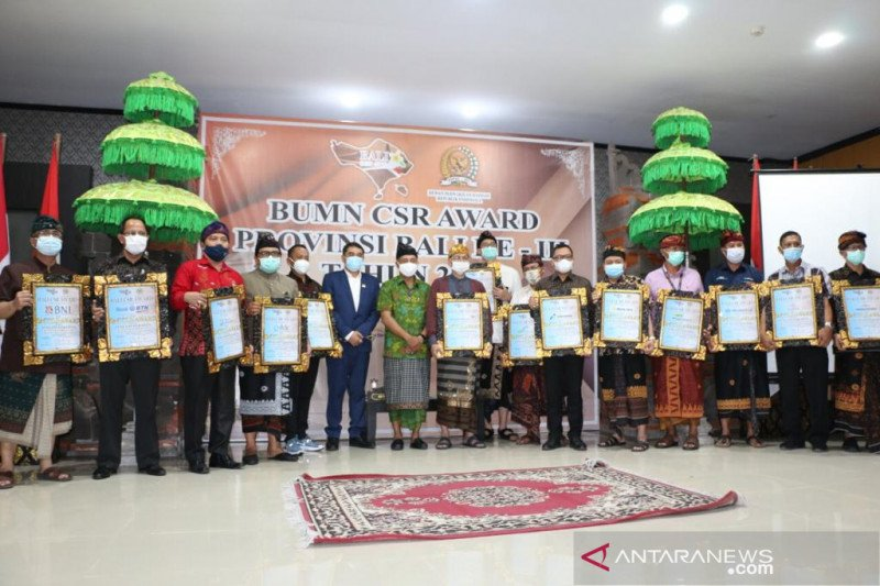 Bandara I Gusti Ngurah Rai raih BUMN CSR Awards