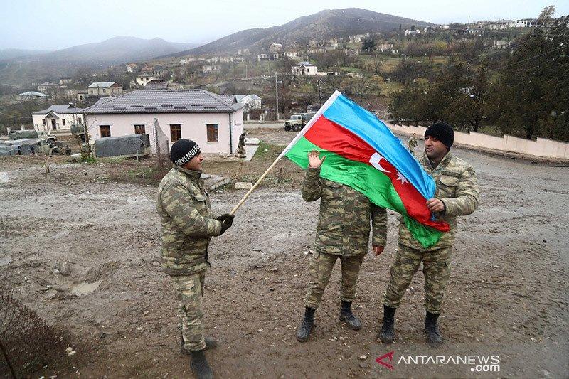 Putin pertemukan pemimpin Azerbaijan, Armenia pascaperang
