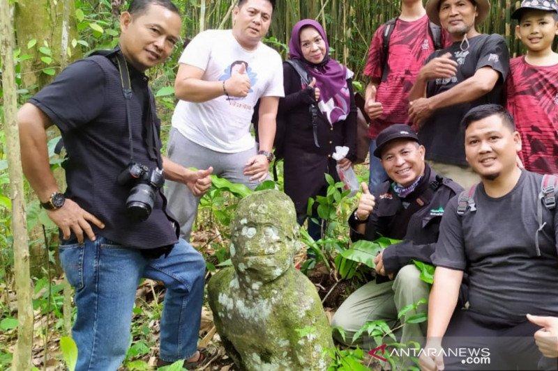 Temuan arca manusia hebohkan warga di Kabupaten Lahat Sumsel