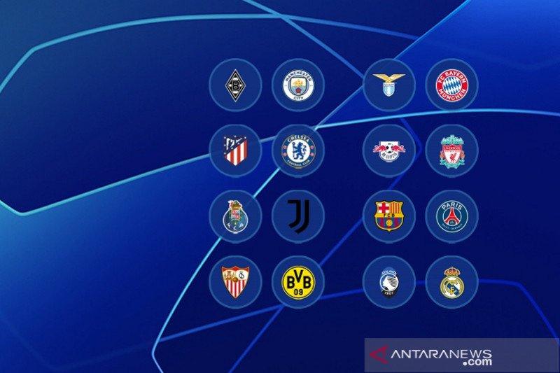 Hasil undian 16 besar Liga Champions, Lionel Messi hadapi Neymar