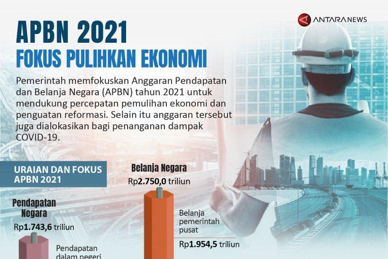 APBN 2021 fokus pulihkan ekonomi
