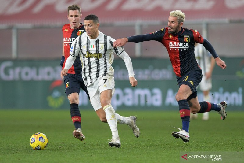 Liga Italia: Juventus kalahkan Genoa 3-1