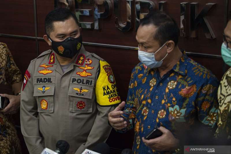 Kemarin, Kapolda Metro hadiri undangan Komnas HAM hingga produk ilegal