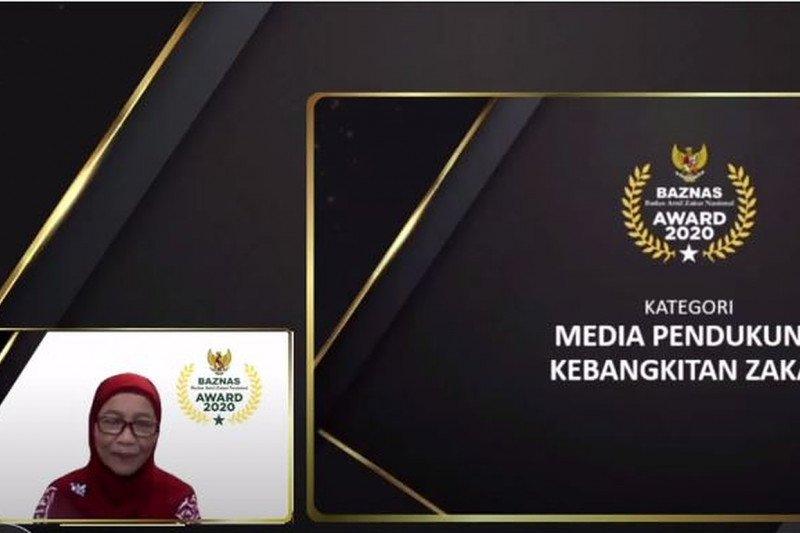 ANTARA meraih penghargaan media pendukung kebangkitan zakat