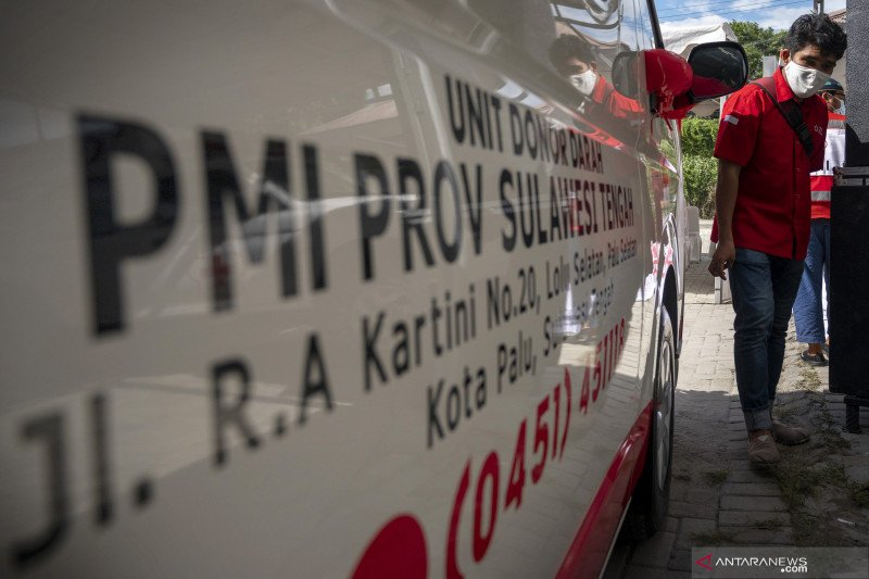 PMI terima donasi Rp2,4 miliar untuk korban gempa Sulbar