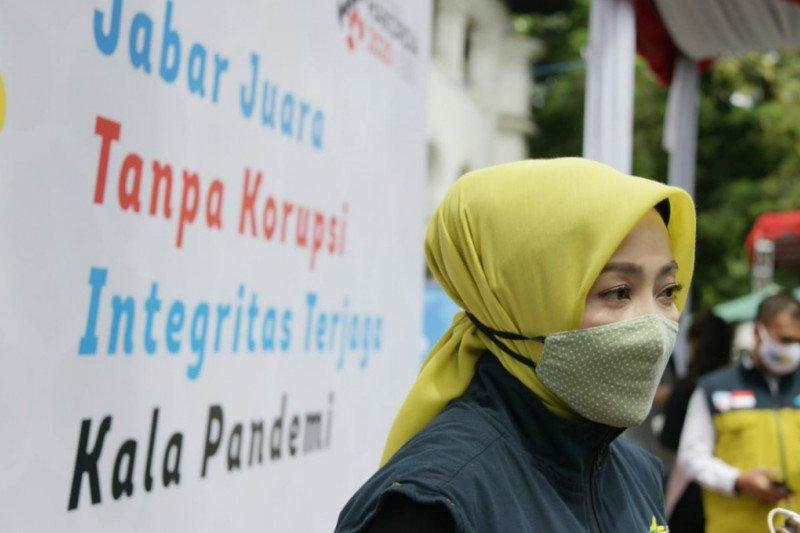 Atalia Kamil ajak para Istri untuk jadi benteng korupsi di keluarga
