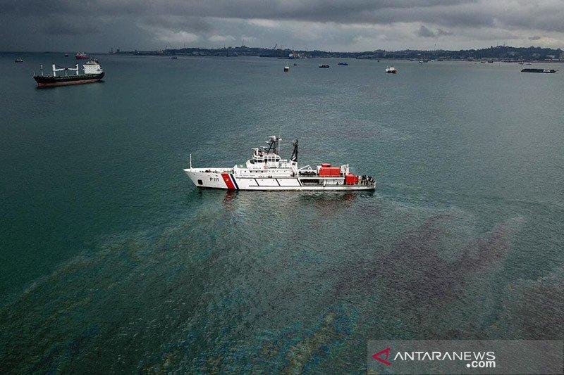 Kemenhub tekan pencemaran minyak akibat kapal tenggelam