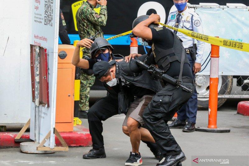 Simulasi antiterorisme Filipina