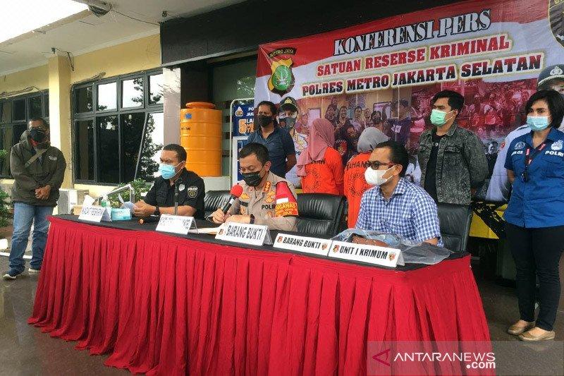 Polisi tangkap dua wanita pelaku pengeroyokan Lurah Cipete Utara