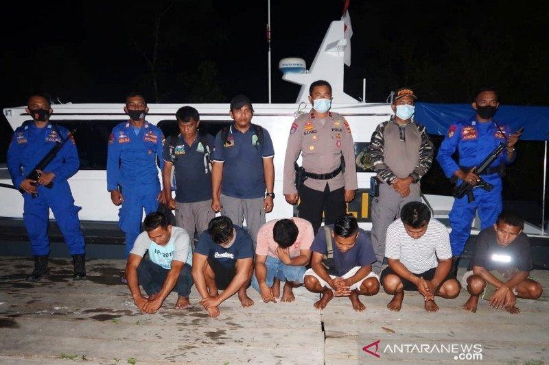 Enam nelayan di Simeulue Aceh ditangkap terkait perusakan lingkungan