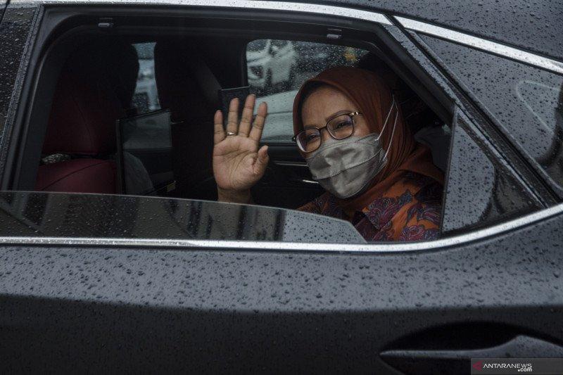 Pemeriksaan Bupati Bogor di Polda Jabar