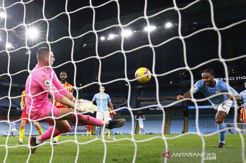 Dominasi Manchester City atas West Brom berbuah hanya satu poin