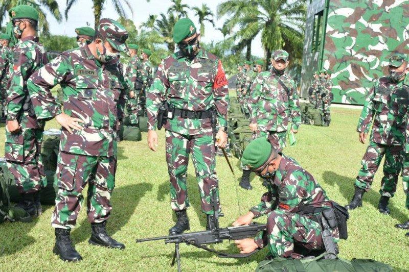 Yonif 122/Tombak Sakti laksanakan tugas operasi Pamtas RI-PNG
