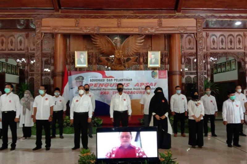 Kementerian PPPA apresiasi pembentukan APSAI di Tulungagung
