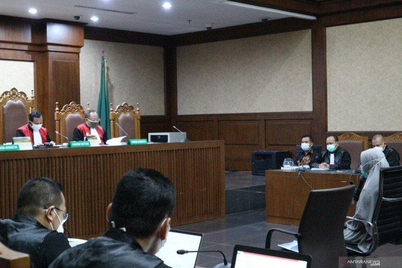 Hakim tegur perilaku jaksa Pinangki dalam persidangan