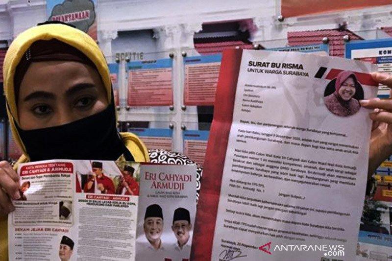 Bawaslu : Tak ada pelanggaran surat Risma di Pilkada Surabaya