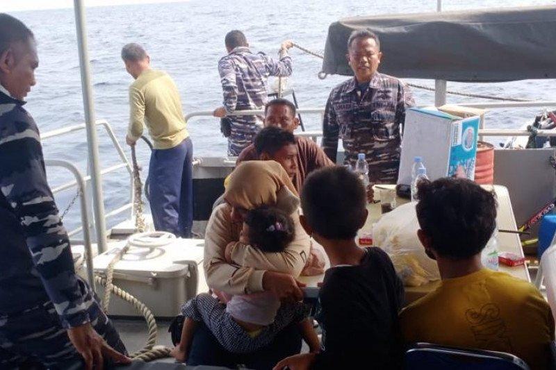 Penumpang speedboat hilang kontak ditemukan selamat