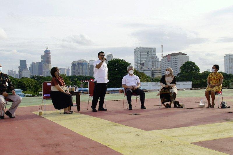 Moeldoko dengarkan cerita sukses peserta Kartu Prakerja