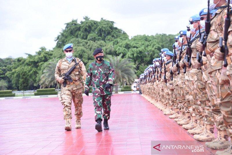 TNI berangkatkan 1.090 prajurit ke Lebanon