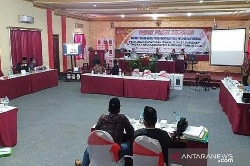 Hasil rekapitulasi suara Pilkada Sumenep, Fauzi-Eva menang