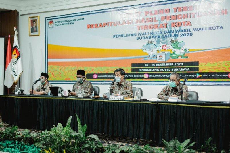 Penetapan Wali Kota Surabaya terpilih tunggu keputusan MK