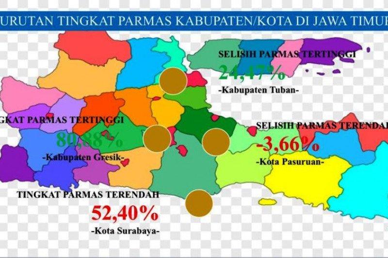 KPU: Partisipasi masyarakat di Pilkada Surabaya terendah se-Jatim