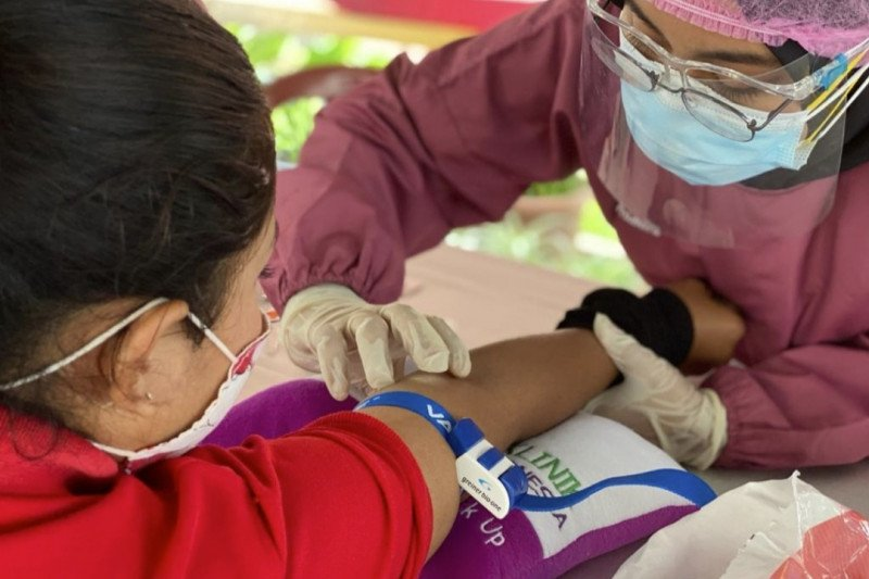 250 warga binaan lapas perempuan lakukan tes cepat cegah COVID-19