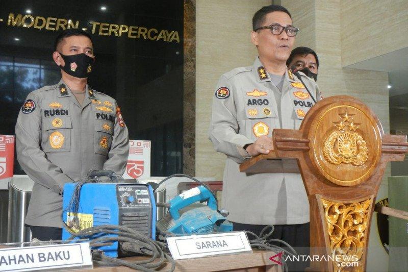 23 teroris JI ditangkap di 8 lokasi di Sumatera