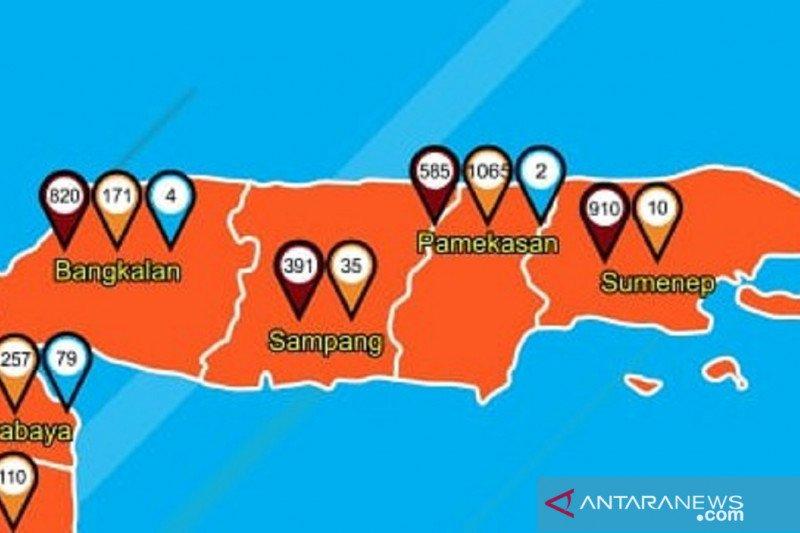 Lima orang tenaga kesehatan di Sampang positif COVID-19