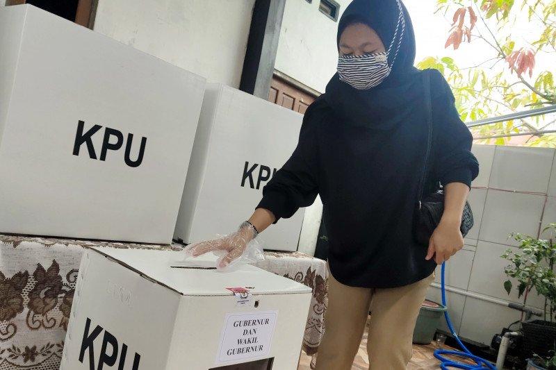Tingkat partisipasi pemilih di Pilkada Kalteng 2020 capai 61,95 persen