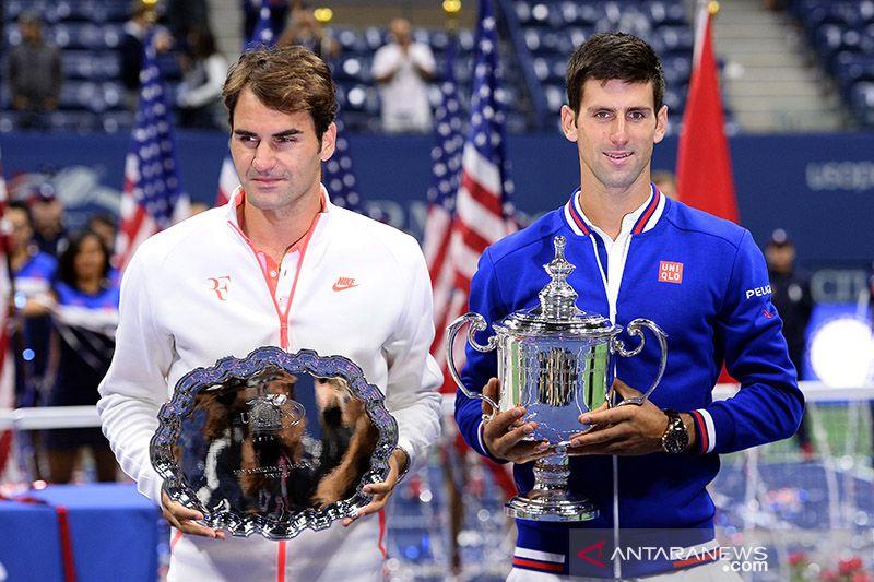 Federer-Djokovic mengenang rivalitas hebat di lapangan tenis