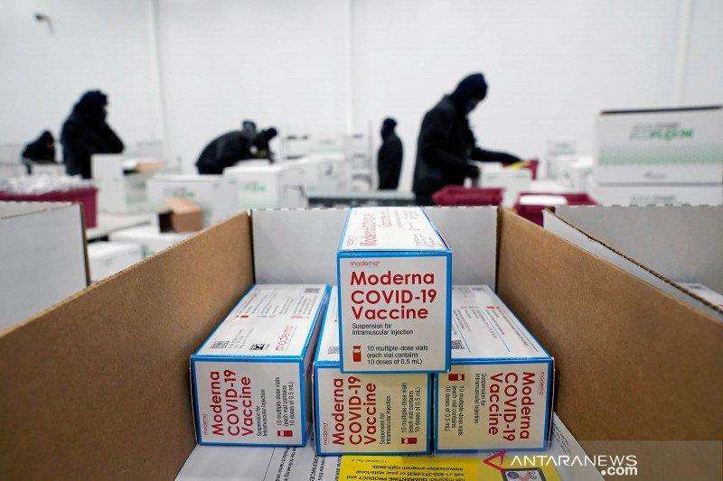 Moderna teken perjanjian pasok vaksin COVID bagi Taiwan, Kolombia