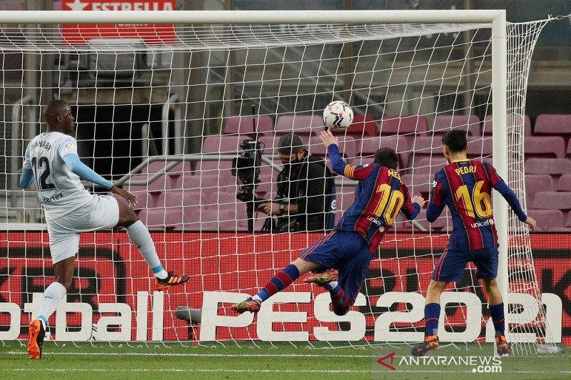 Messi samai rekor Pele ketika Barcelona ditahan seri Valencia