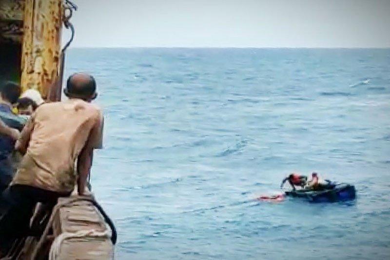 Kru KLM Armada Bahari Mulya diselamatkan kapal kargo tujuan Sampit