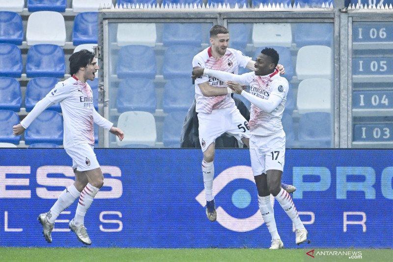 AC Milan kembali ke jalur kemenangan setelah taklukkan Sassuolo 2-1