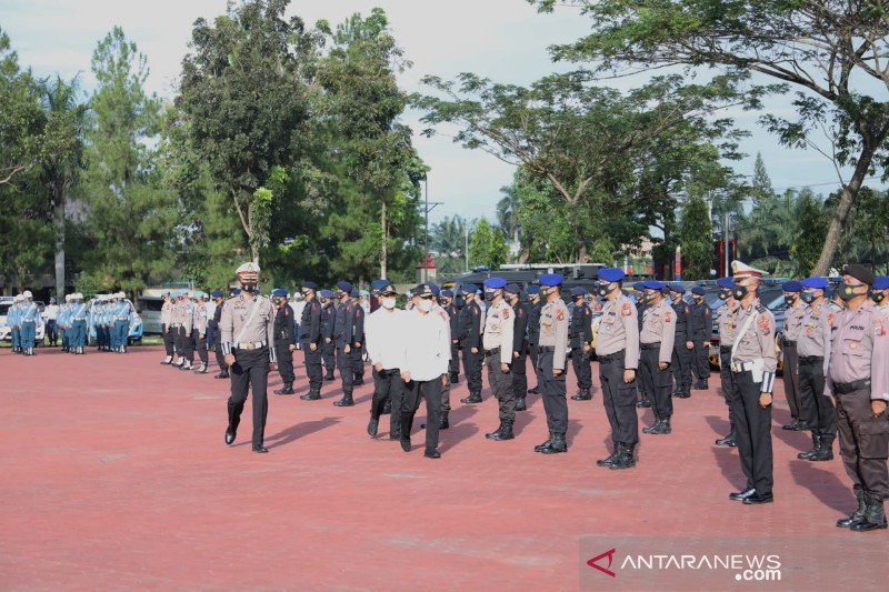 10.000 personel gabungan disiagakan amankan Natal-Tahun Baru di Sumut