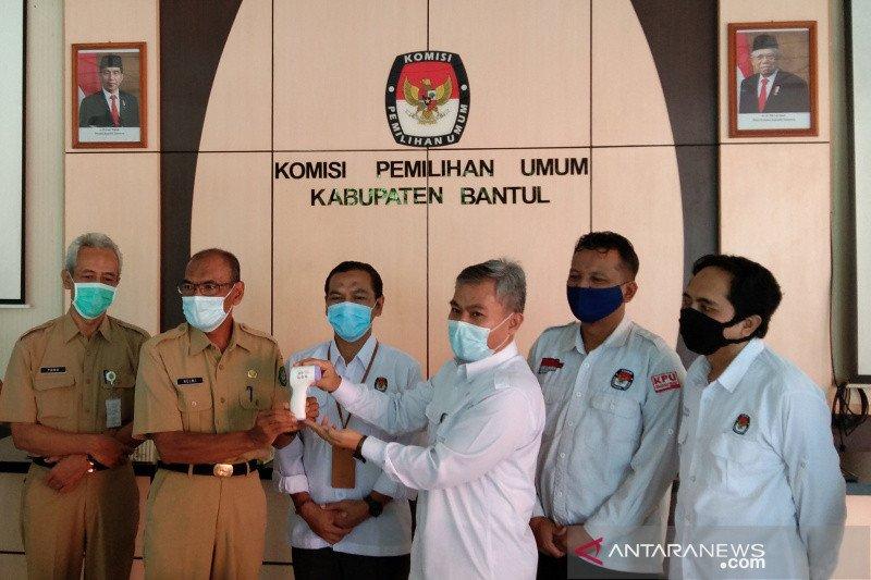 KPU Bantul hibahkan ribuan thermo gun ke Pemkab